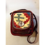 Kilim Shoulder bag - Handcrafted Persian Wool Woven Shoulder Bag